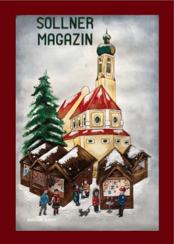 Titelbild Sollner Magazin Weihnachten