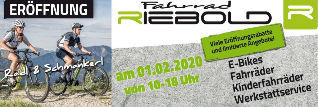 Fahrrad Riebold eröffnet auf der Wolfratshauser Straße 234
