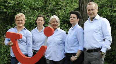 Das Team vom TUI Reisecenter in Solln
